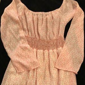 Pink Flower Dress by Honey Punch